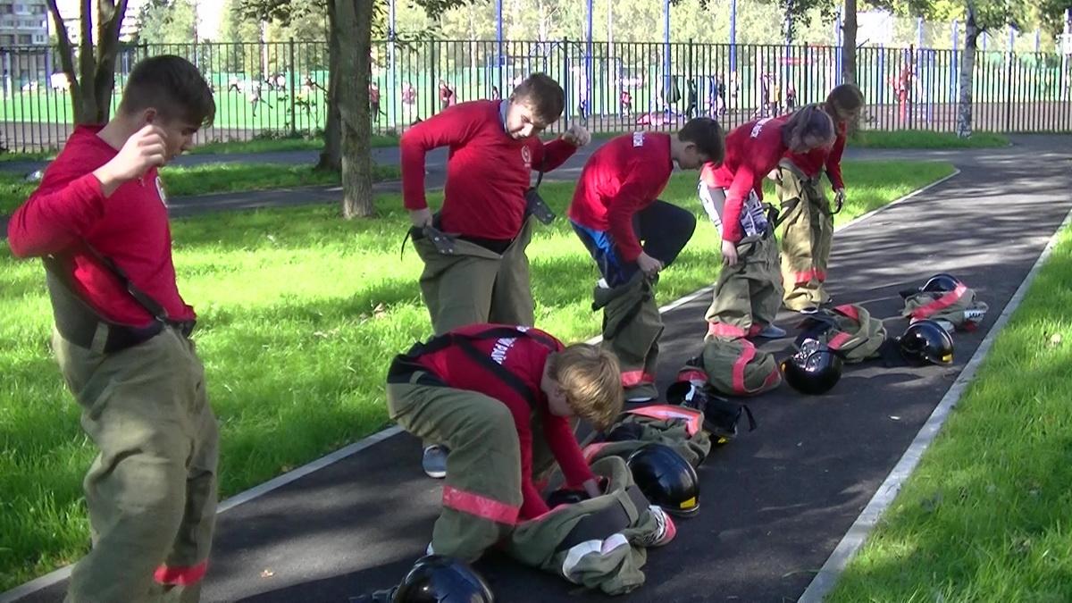 12 всероссийский слет дружин юных пожарных