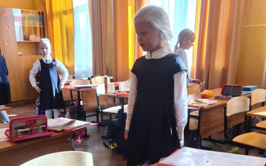 Урок пожарной безопасности  в 594 школе Московского района